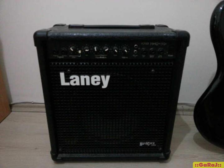 Laney Hardcore Max 30 watt bass amplifier HCM30B