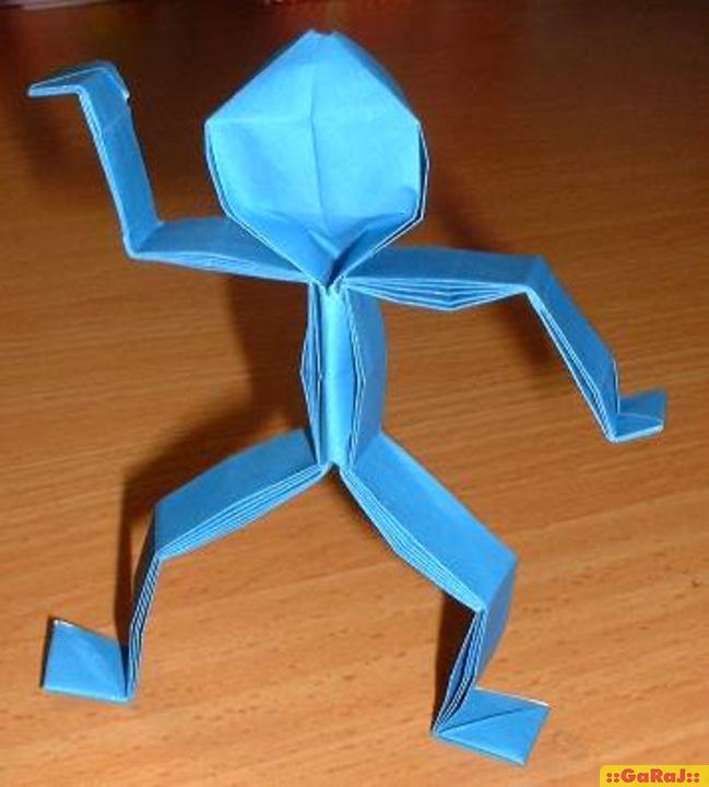 Фигурки людей из оригами