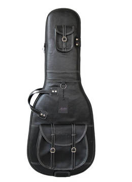 Auster EG400 Leatherette Siyah Deri Elektro Gitar Gigbag