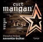 Curt Mangan 11-52 Phosphor Bronze Light akustik gitar teli