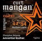 Curt Mangan 12-54 Phosphor Coated Med-Light akustik gitar teli