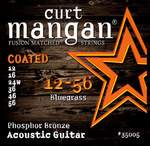 Curt Mangan 12-56 Phosphor Coated Medium akustik gitar teli